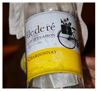 Bouteille de Chardonnay