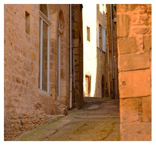 Une ruelle de Sarlat...