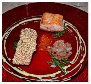 Trilogie de saumon